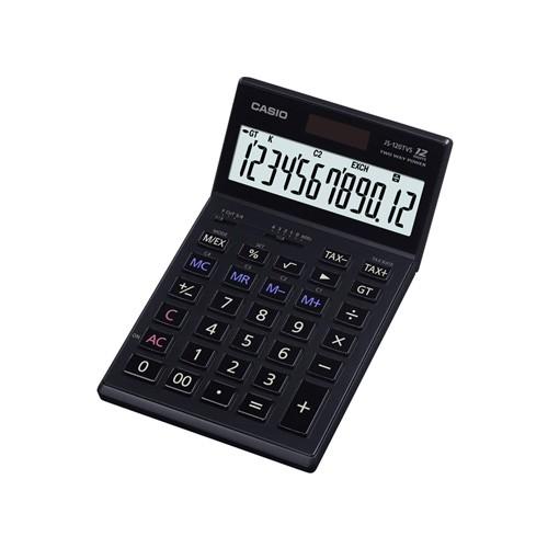 Casio Kalkulator JS-120TVS BK - Black