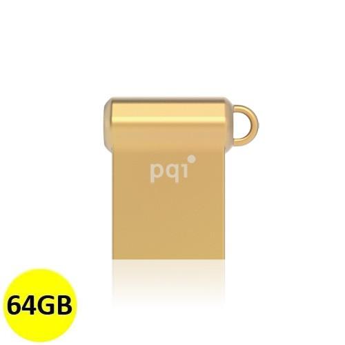 PQI Flash Drive USB 3.0 i-Mini II U838V 64GB - Gold