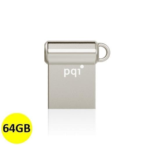 PQI Flash Drive USB 3.0 i-Mini II U838V 64GB - Silver