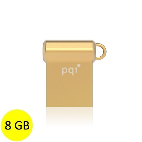 PQI Flash Drive USB 3.0 i-Mini II U838V 8GB - Gold