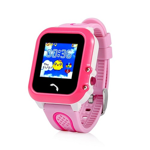 Wonlex Kids Watch Touchscreen Waterproof GW400E - Pink