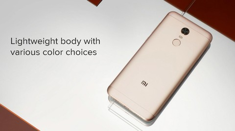 Xiaomi Redmi 5 Plus (4GB RAM/64GB) - Gold