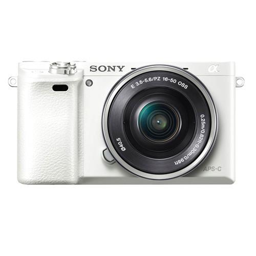 Sony Alpha a6000 Mirrorless Digital Camera - White