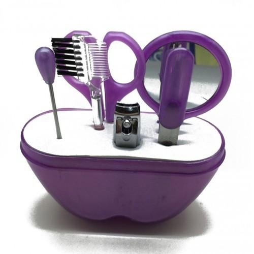 Ai Mi Ni Beauty Tool Set 6 in 1 - Purple