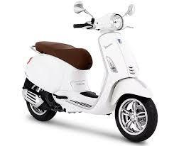 Vespa Sepeda Motor Primavera 150cc I-GET ABS - White