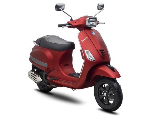 Vespa Sepeda Motor S 125 I-GET - Redmatt