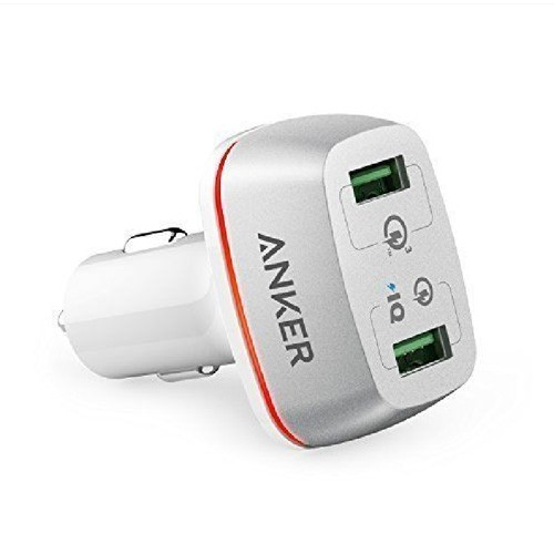 Anker PowerDrive+ 2 with Quick Charge 3.0 A2224H21 - White
