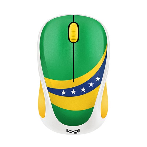 Logitech M238 Wireless Mouse Fan Collection - Brazil