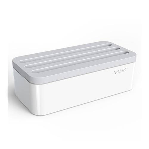 Orico Storage Box Organizer for Desktop Charger PB1028 - White