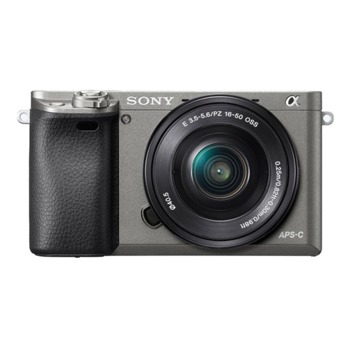 Sony Alpha a6000 Mirrorless Digital Camera - Grey