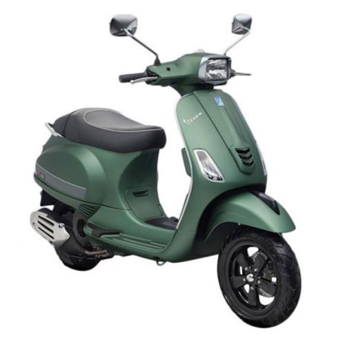 Vespa Sepeda Motor S 125 I-GET - Green matt