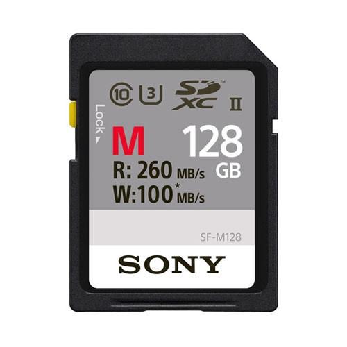 Sony Memory Card SDXC M Series Class 10 UHS-II (U3) 128GB