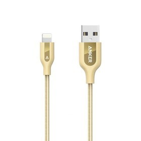 Anker PowerLine+ Cable Lightning 3ft A8121HB1 - Gold
