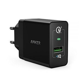 Anker Wall Charger PowerPort+ 1 with Quick Charge 3.0 A2013L11 - Black