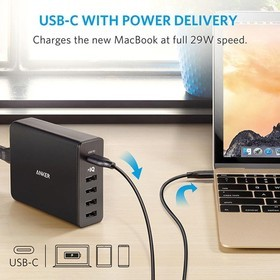 Anker PowerPort+ 5 USB-C with USB Power Delivery A2053L11