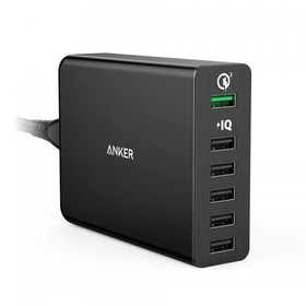 Anker Powerport+ 6 with Quick Charge 3.0 A2063J11 - Black