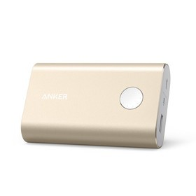 Anker Power Bank PowerCore+ 10.050mAh with Quick Charge 3.0 A1311HB1 - Gold