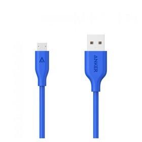 Anker PowerLine Micro USB 3ft V4 A8132H31 - Blue