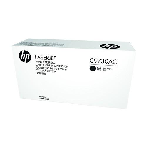 HP Black Contr LaserJet Toner Cartridge C9730AC