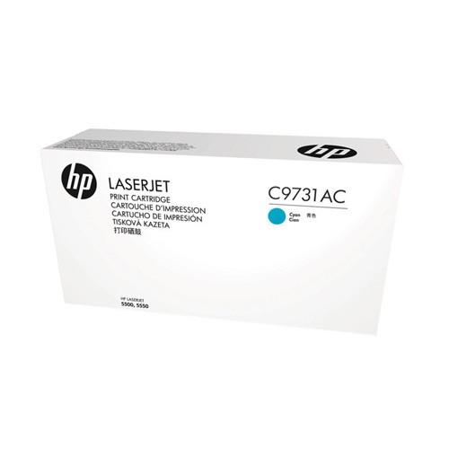 HP Cyan Contract LaserJet Toner Cartridge C9731AC