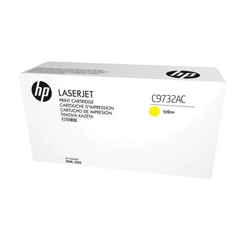 HP LaserJet Toner Cartridge Yellow C9732AC