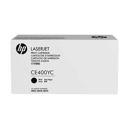 HP Business 507Y Black Toner CE400YC