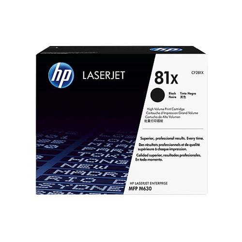 HP Black LaserJet Toner Cartridge  CF281XC