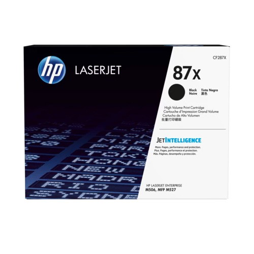 HP 87X High Yield Black Original LaserJet Toner Cartridge CF287XC