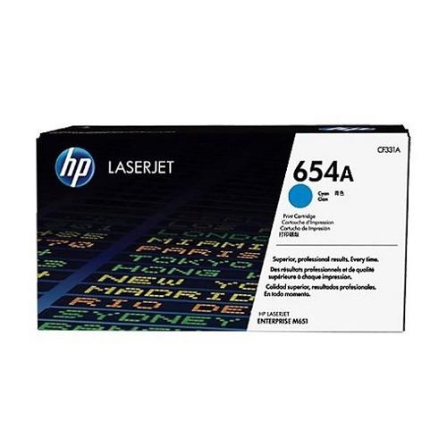 HP Cyan Toner 654A Cartridge CF331AC