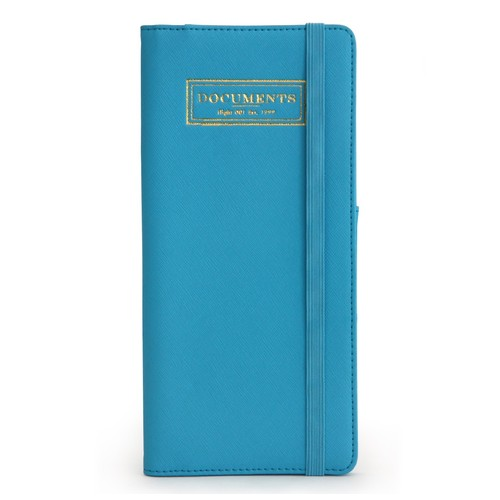 Flight 001 F1 Correspondent Document Holder, Blue