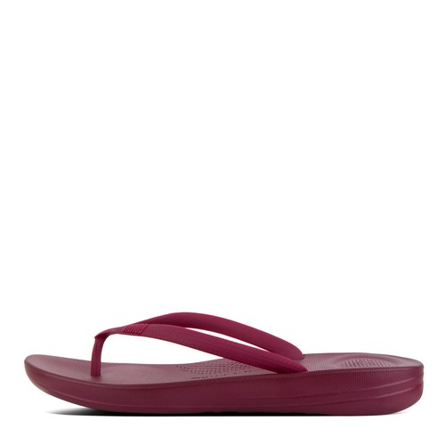 Fitflop Iqushion Ergonomic Flipflop, Deep Plum, (5)