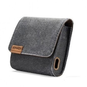 Anker Premium Travel Pouch for Anker A137 - Brown