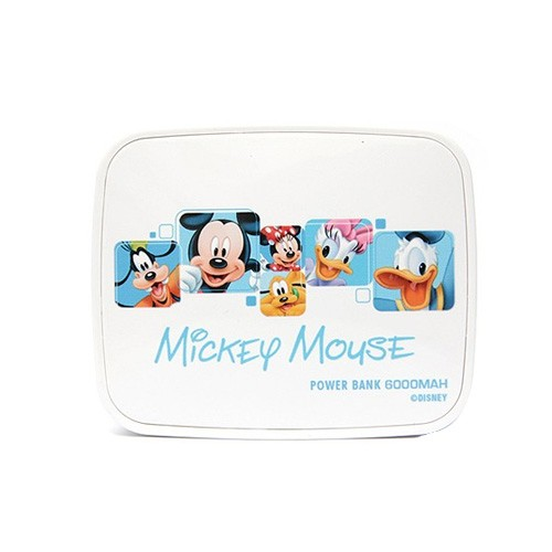 Disney Original Power Bank 6000mAh - Mickey Family - White