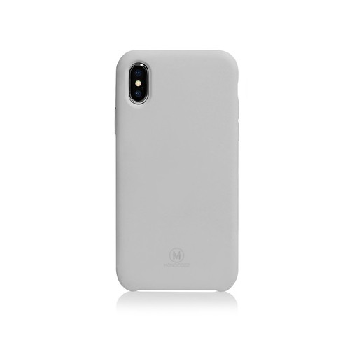 Monocozzi Gritty Case for iPhone X - Grey