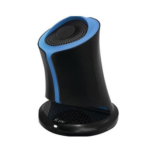 iLuv Syren Bluetooth Portable Speaker (SYRENBLU) - Blue