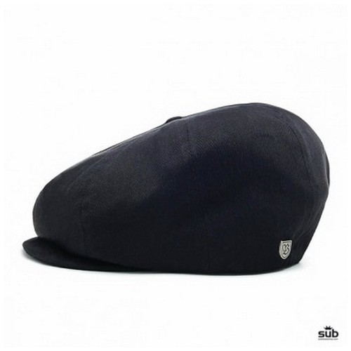 Brixton Brood Snap Cap, Black, (L)