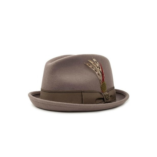 Brixton Gain Fedora Natural, (L)