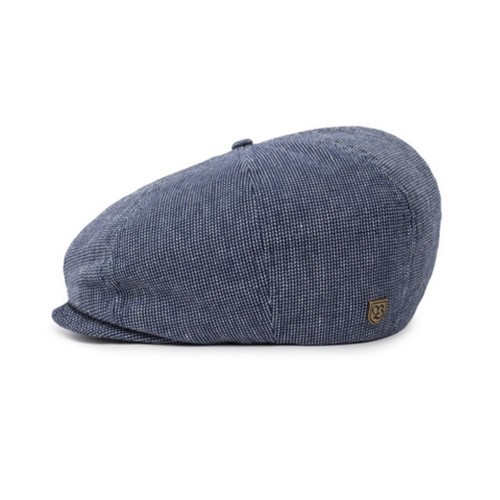 Brixton Brood Snap Cap Navy/Off White, (L)