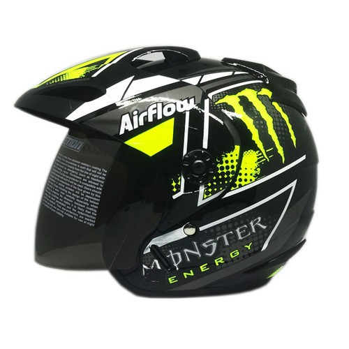 Venom Helm Monster - Black Yellow Fluo