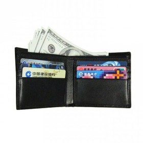 Carbon Fiber Wallet RFID Bl