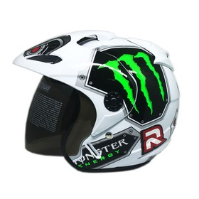 Venom Helm Warlock - White