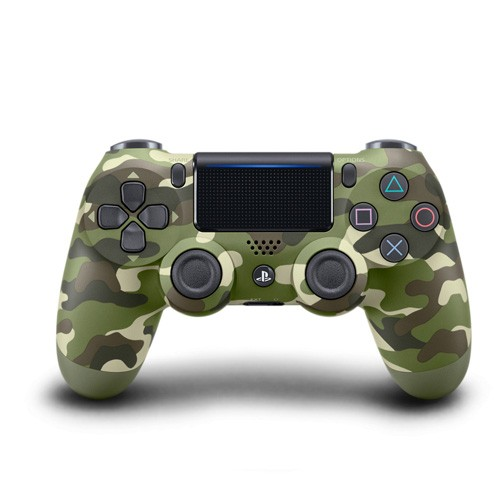 Sony Joystick Dual Shock PS4 - Green Camouflage