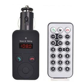 Wireless Bluetooth LCD FM T