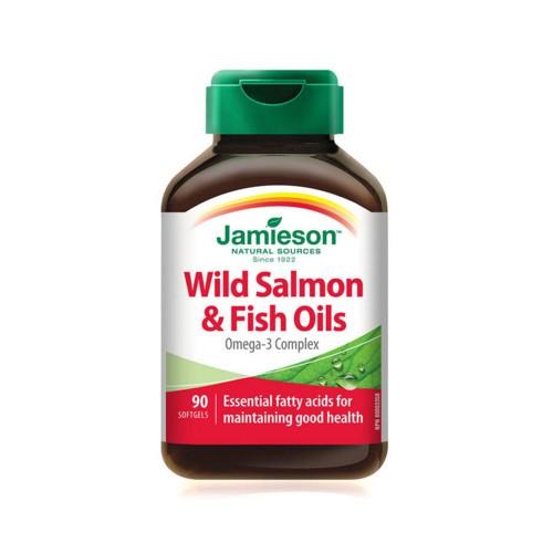Jamieson Wild Salmon & Fish Oils Omega 3 Complex 90s
