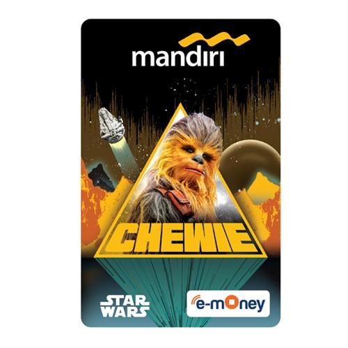 Mandiri e-Money Solo Star Wars - Chewie