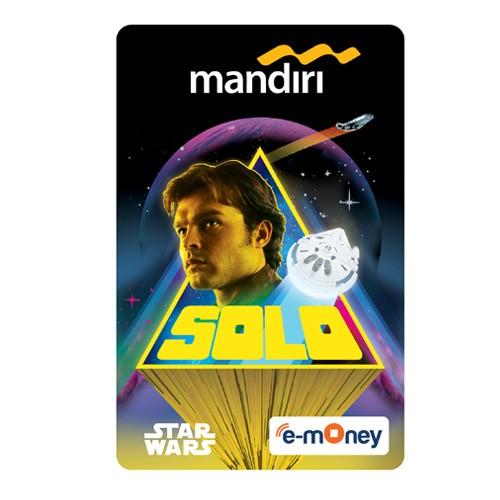 Mandiri e-Money Solo Star Wars - Han Solo