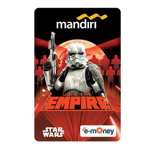 Mandiri e-Money Solo Star Wars - Stormtrooper