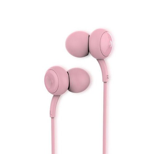 Remax Music Earphone with Mic RM-510 - Pink