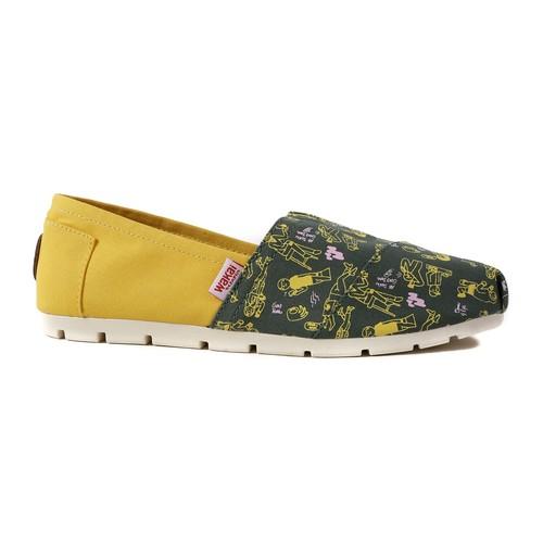 Wakai People Mustard Sepatu Slip On (WAK0002543.C3357)
