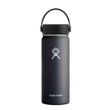 Hydro Flask Wide Mouth 18OZ - Black